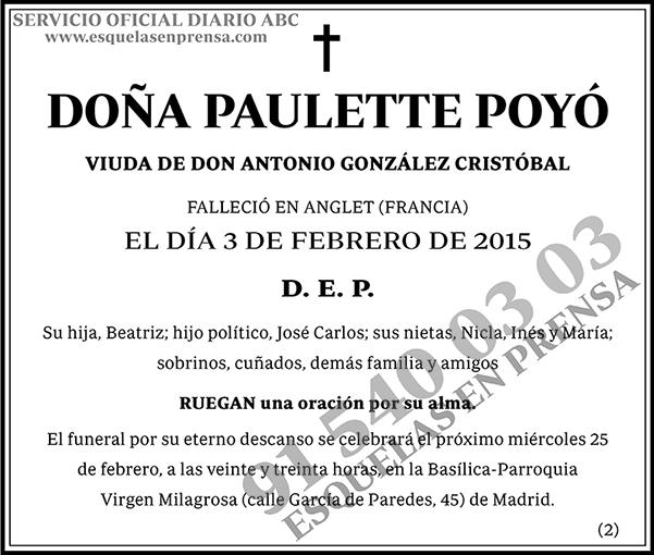 Paulette Poyó